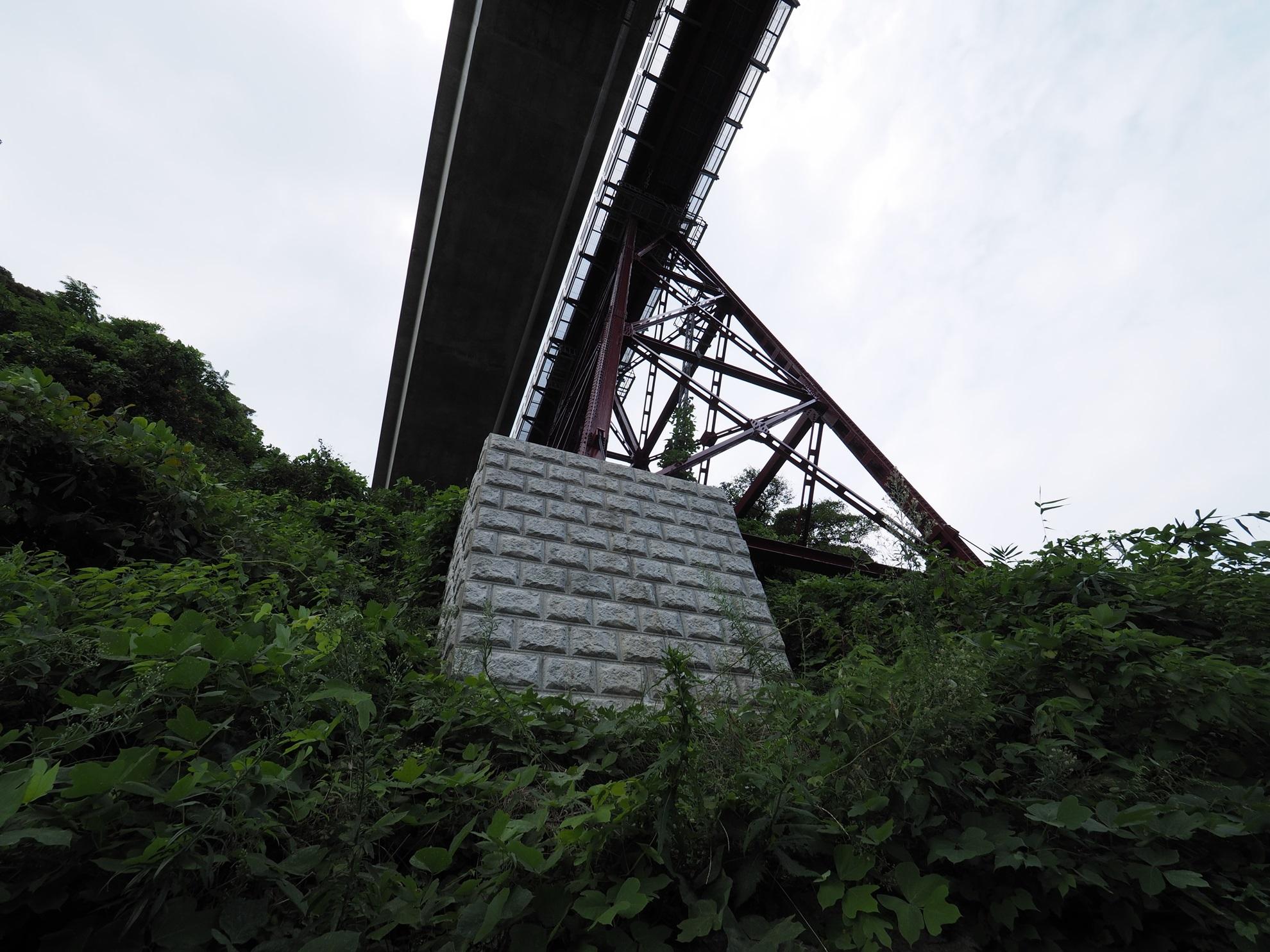 余部橋梁 鉄橋土台