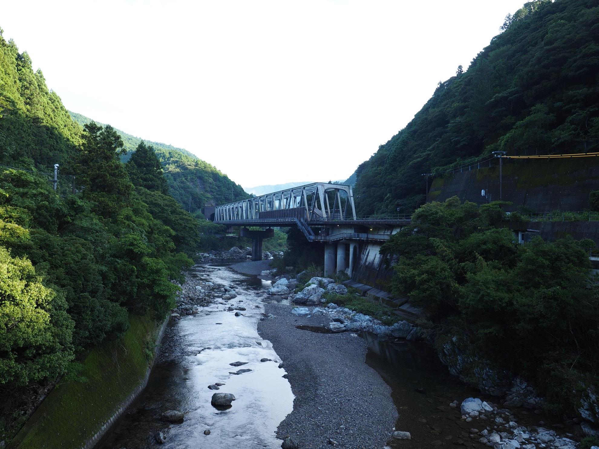 土佐北川駅 全景