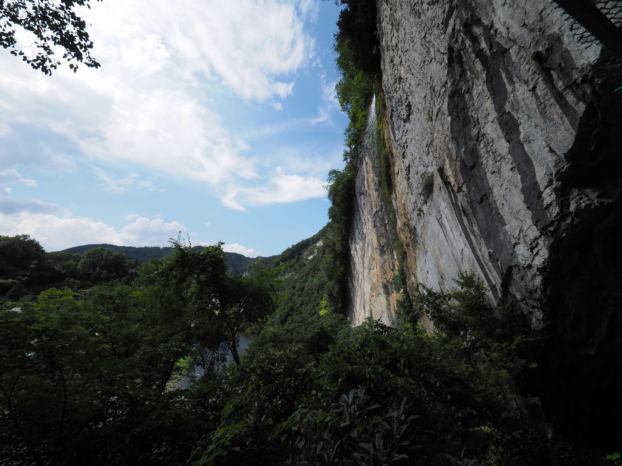 井倉の滝2
