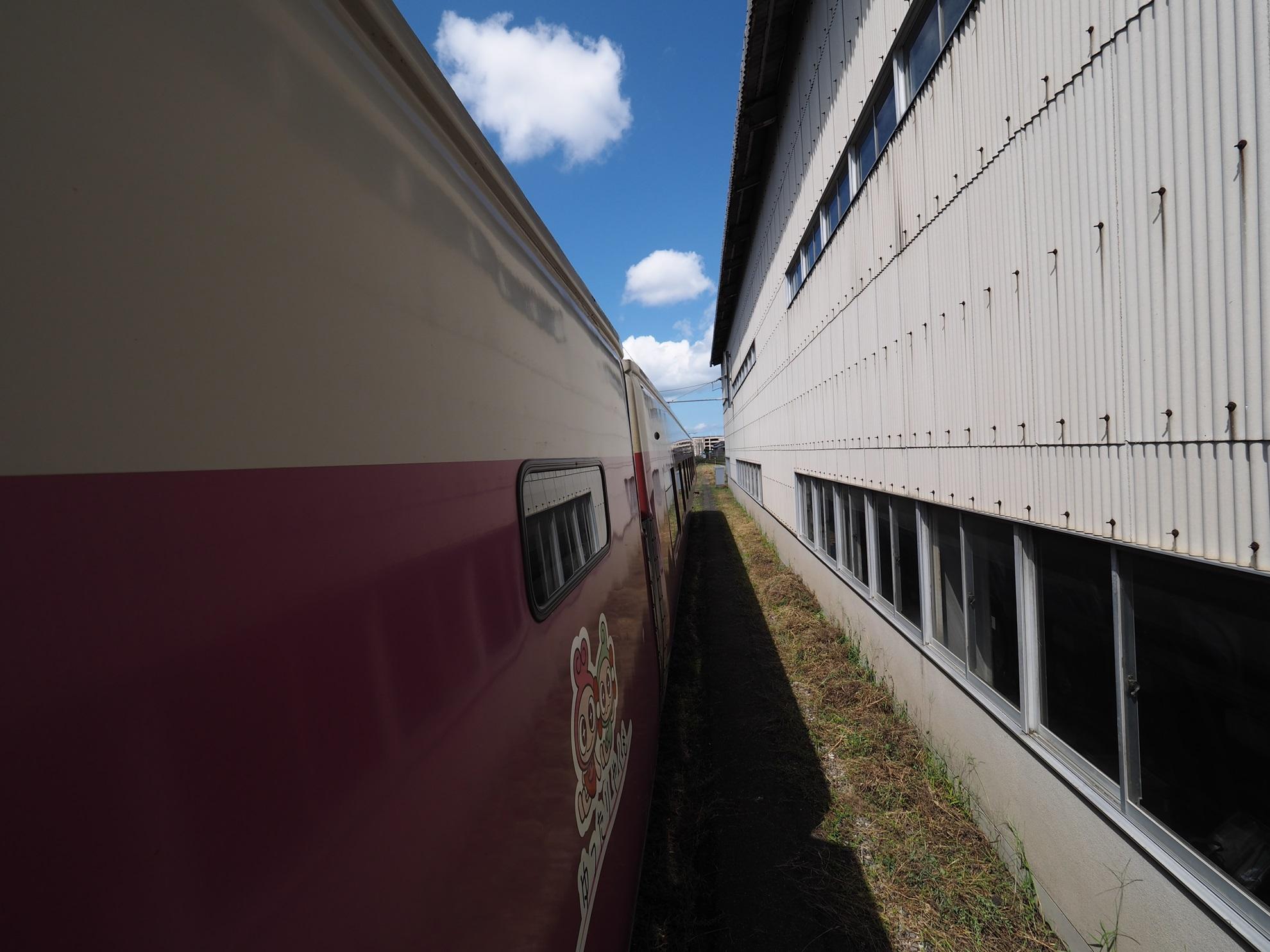 後藤総合車両所一般公開 2015 381系やくも3