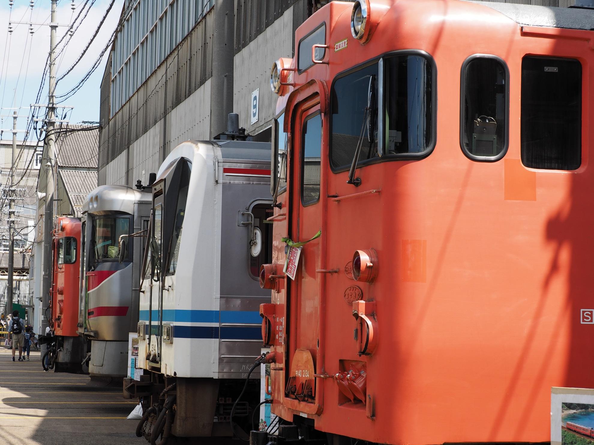 後藤総合車両所一般公開 2015 展示車両2