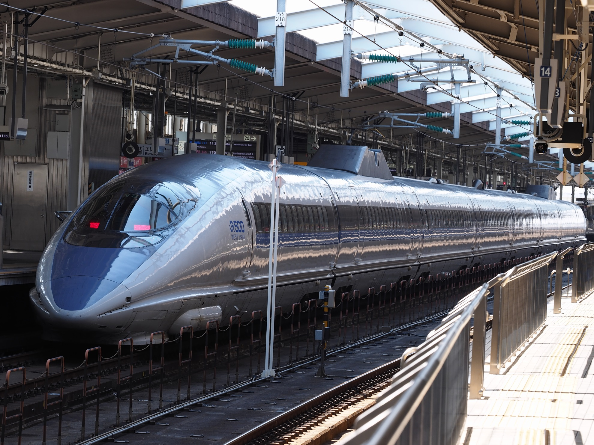 新大阪駅-500系新幹線3