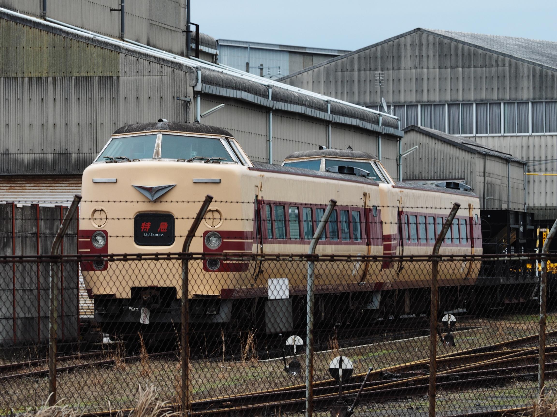 後藤総合車両所 381系5