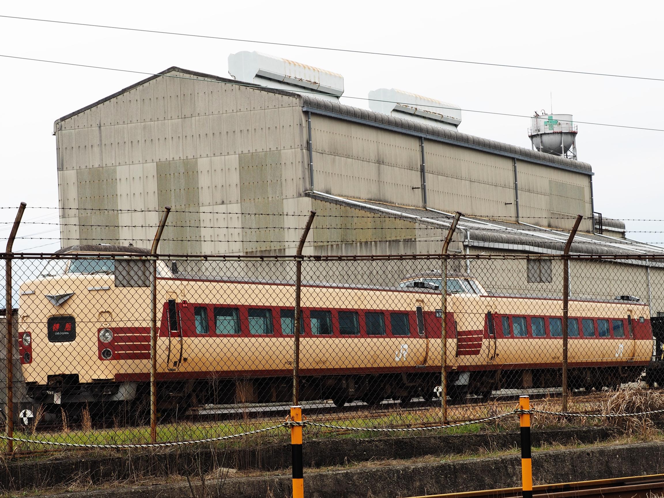 後藤総合車両所 381系6
