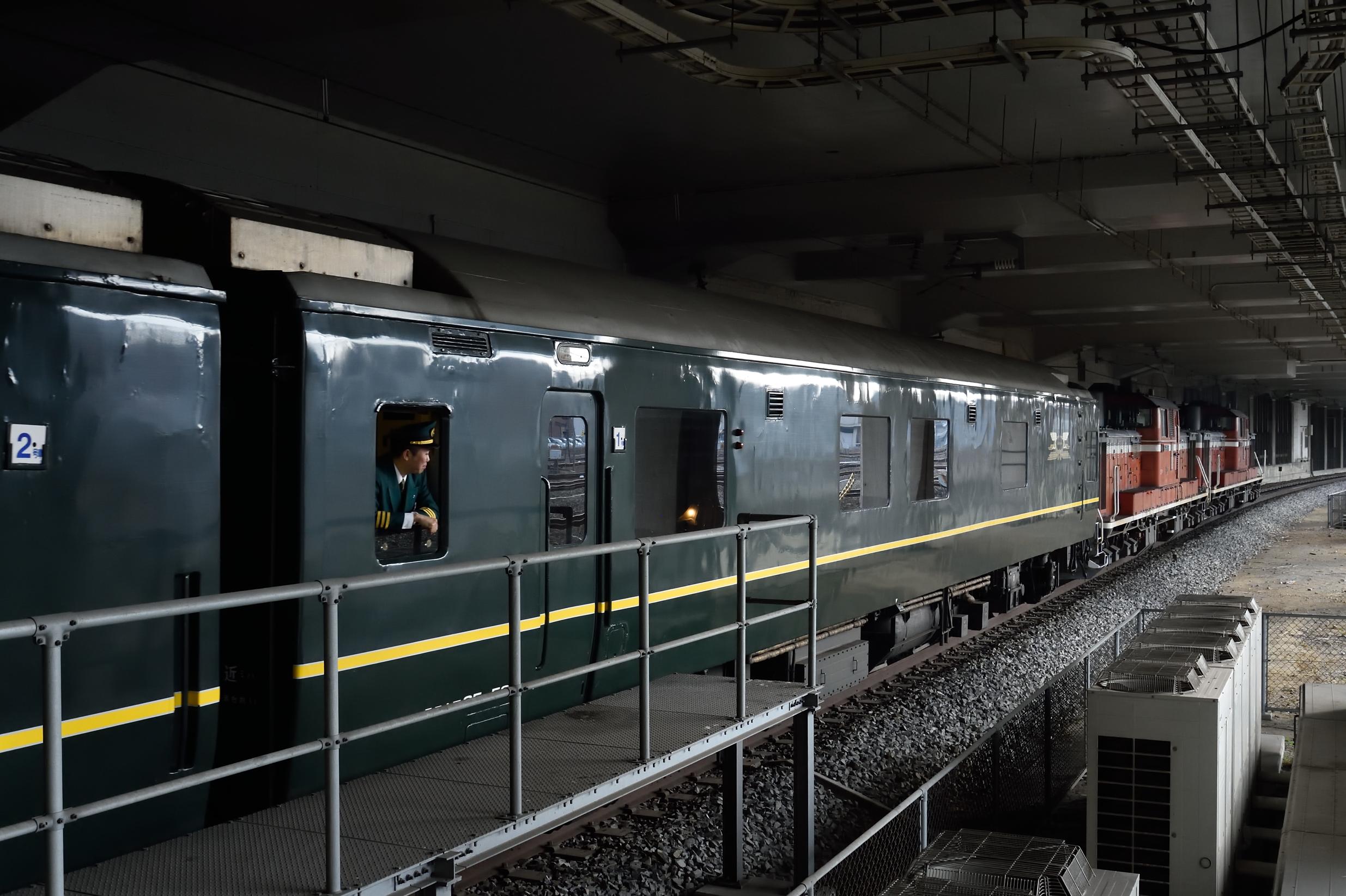 岡山駅 トワイライト2