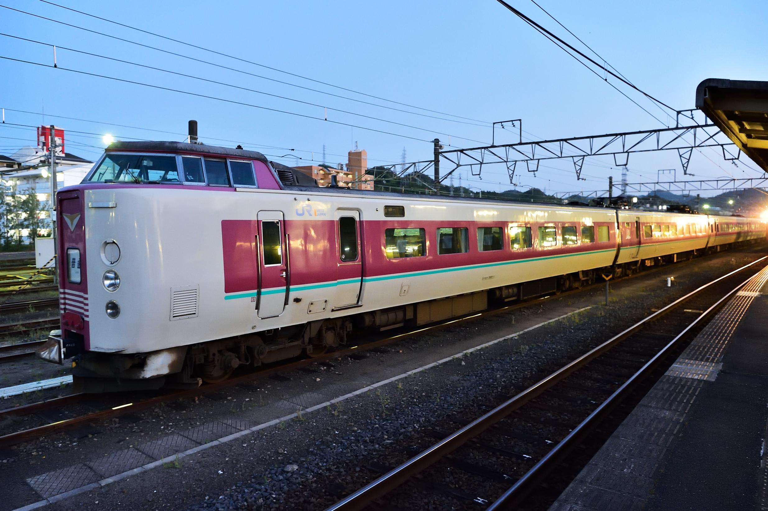 米子駅381系 普通2