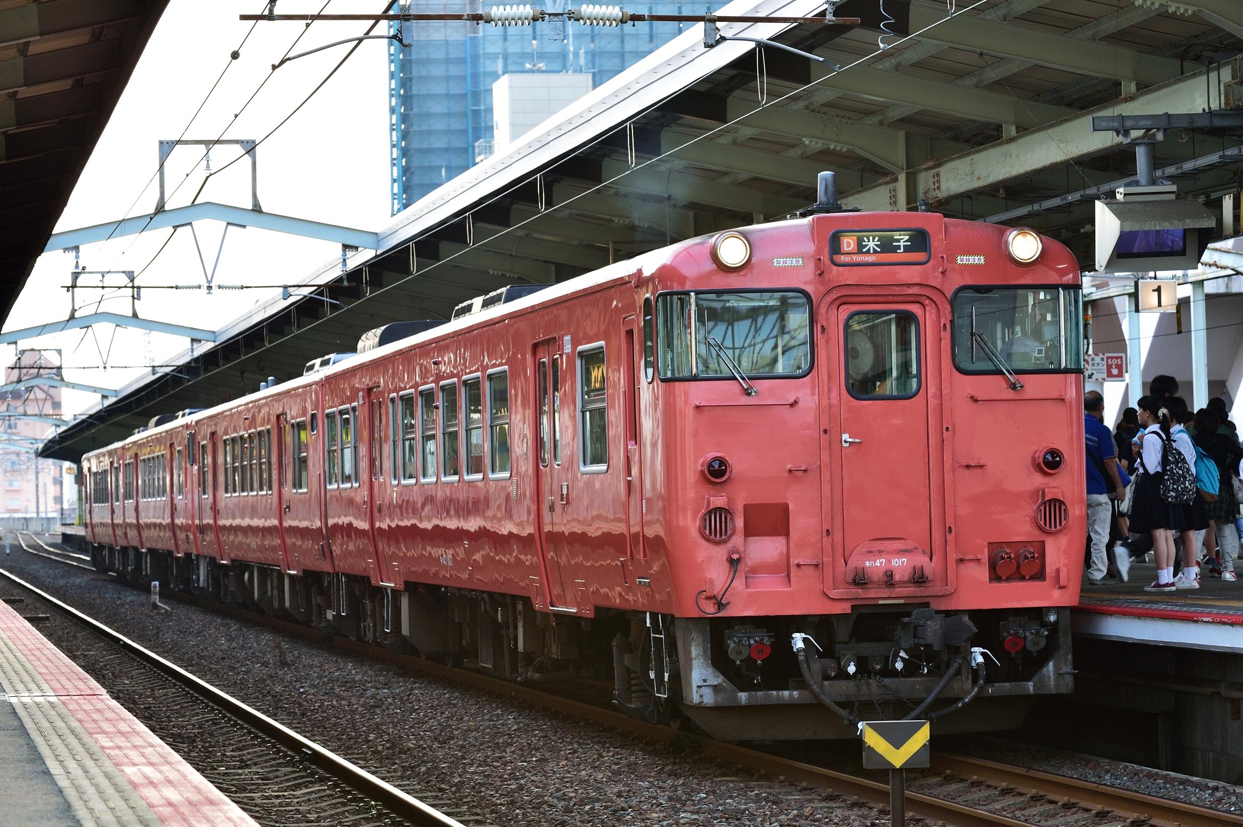 松江水郷祭2016臨時列車1