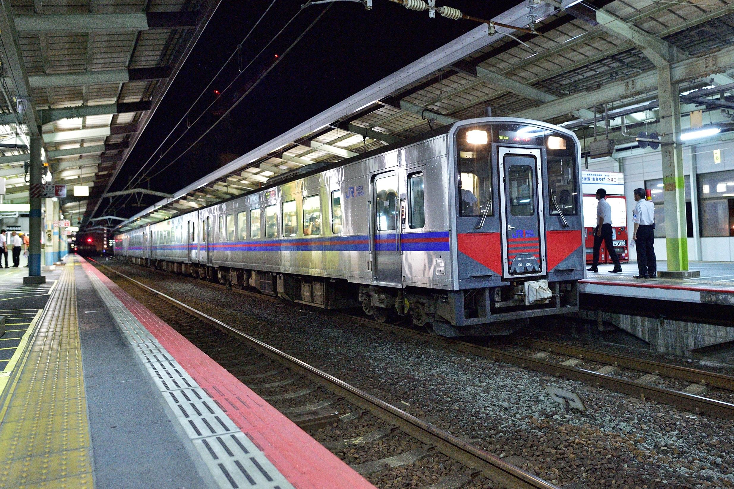 松江水郷祭2016臨時列車10