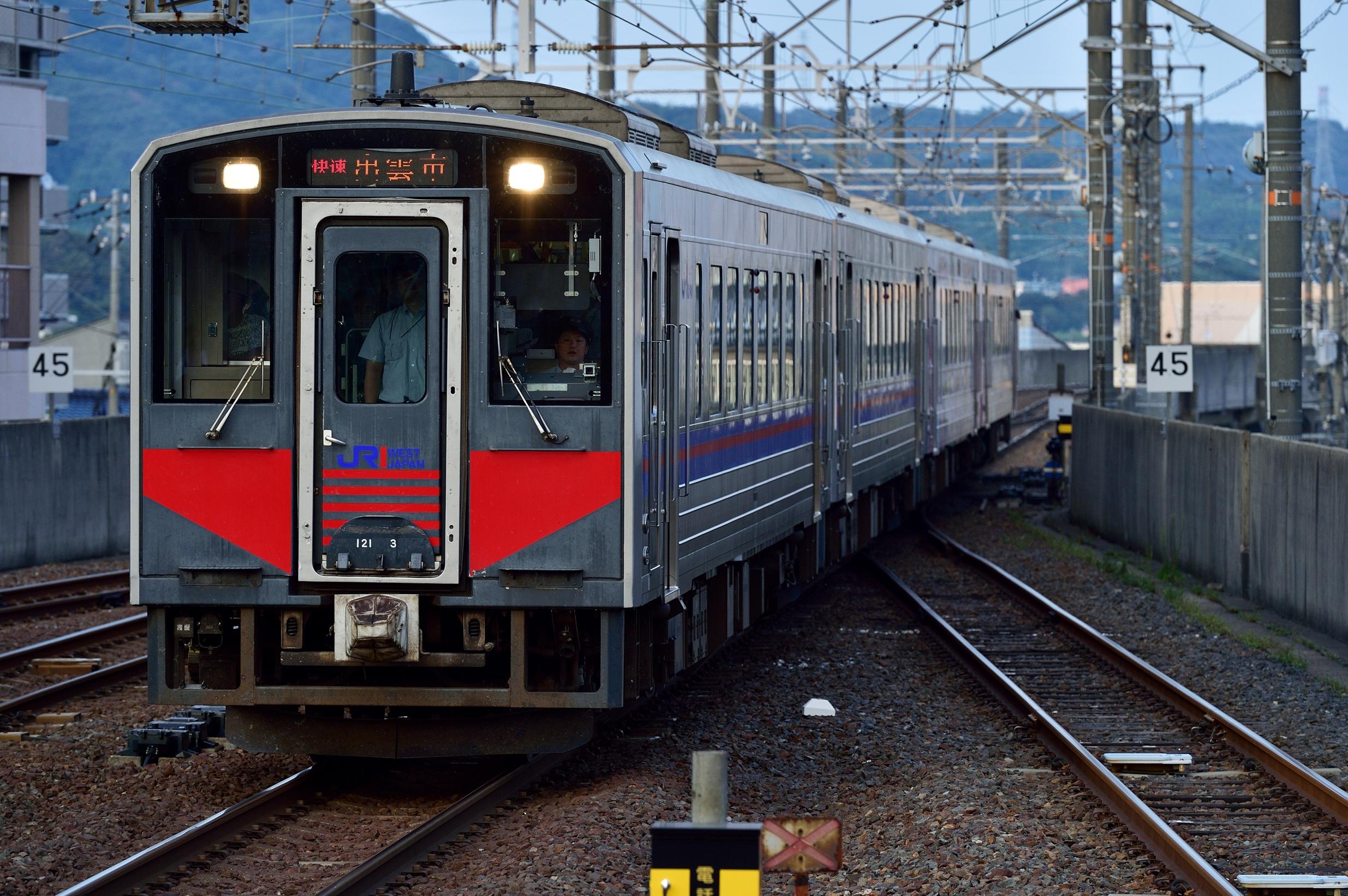松江水郷祭2016臨時列車2