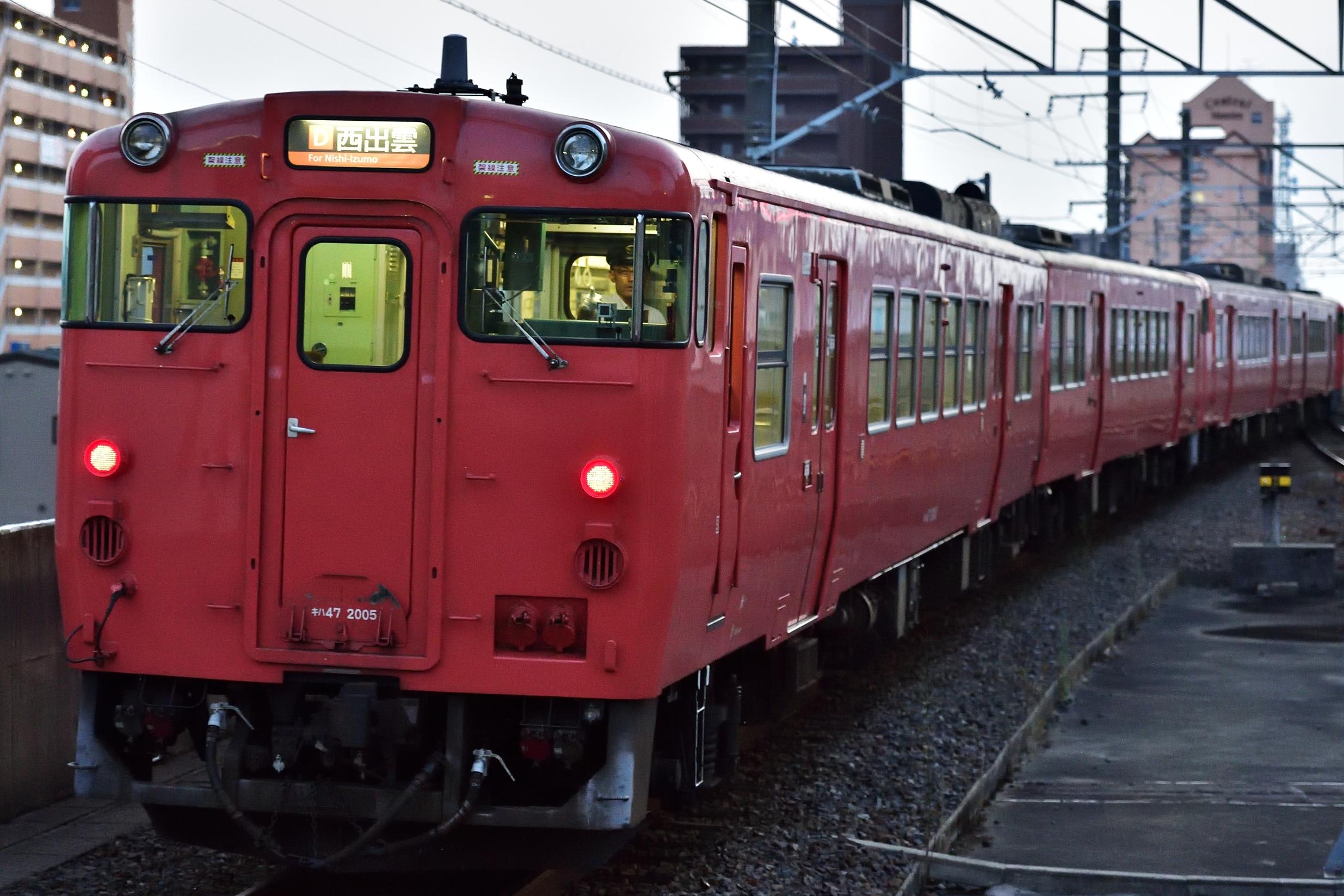 松江水郷祭2016臨時列車3