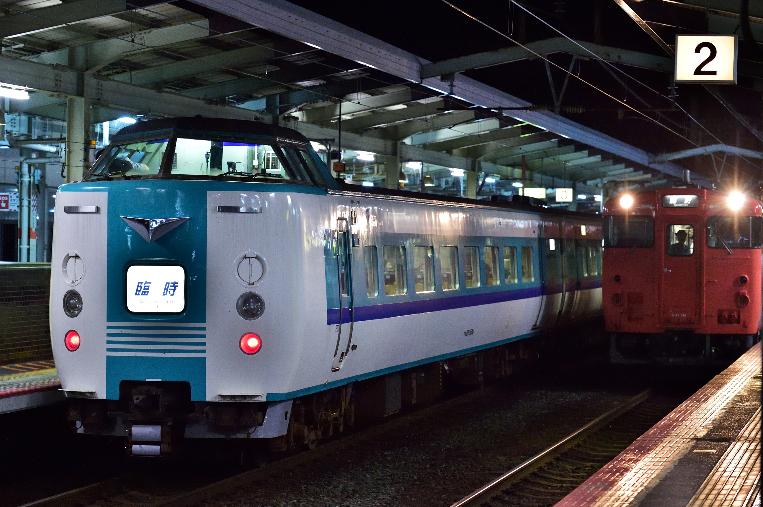 松江水郷祭2016臨時列車5