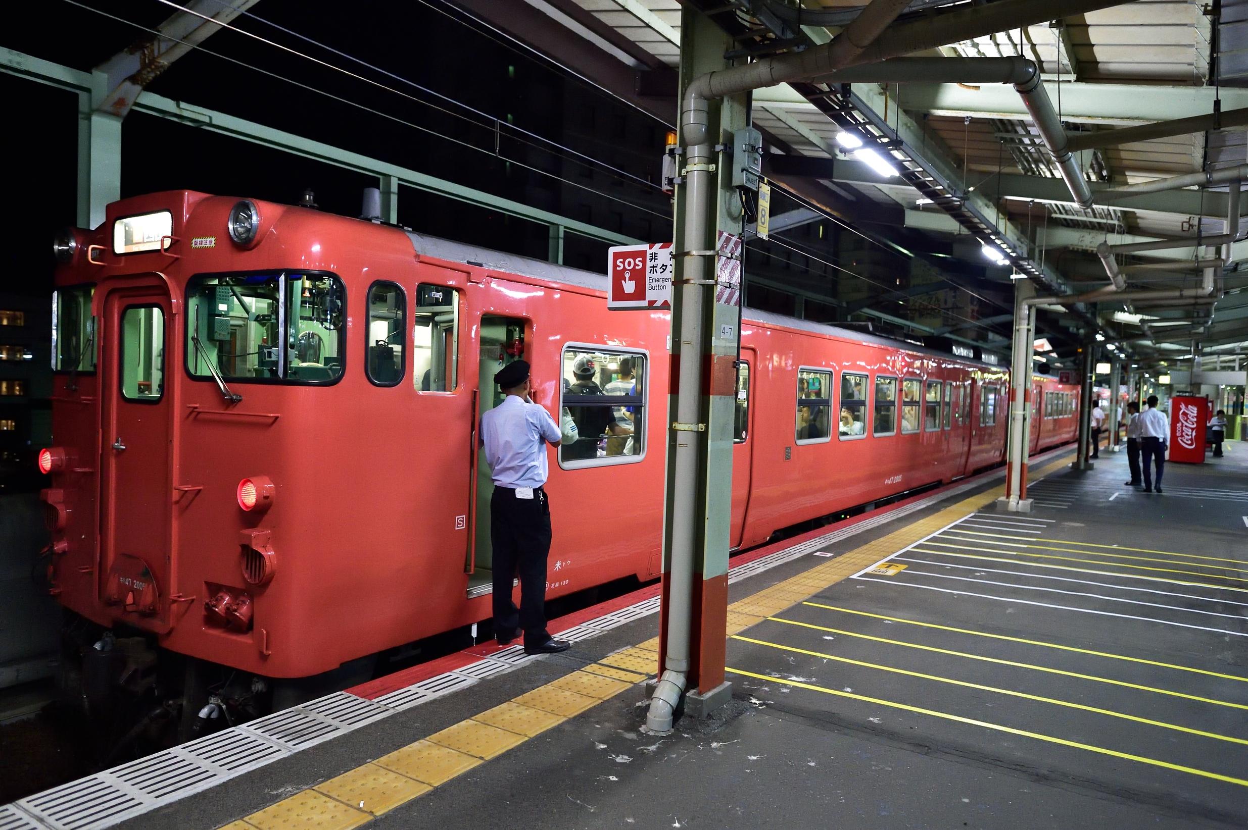 松江水郷祭2016臨時列車9