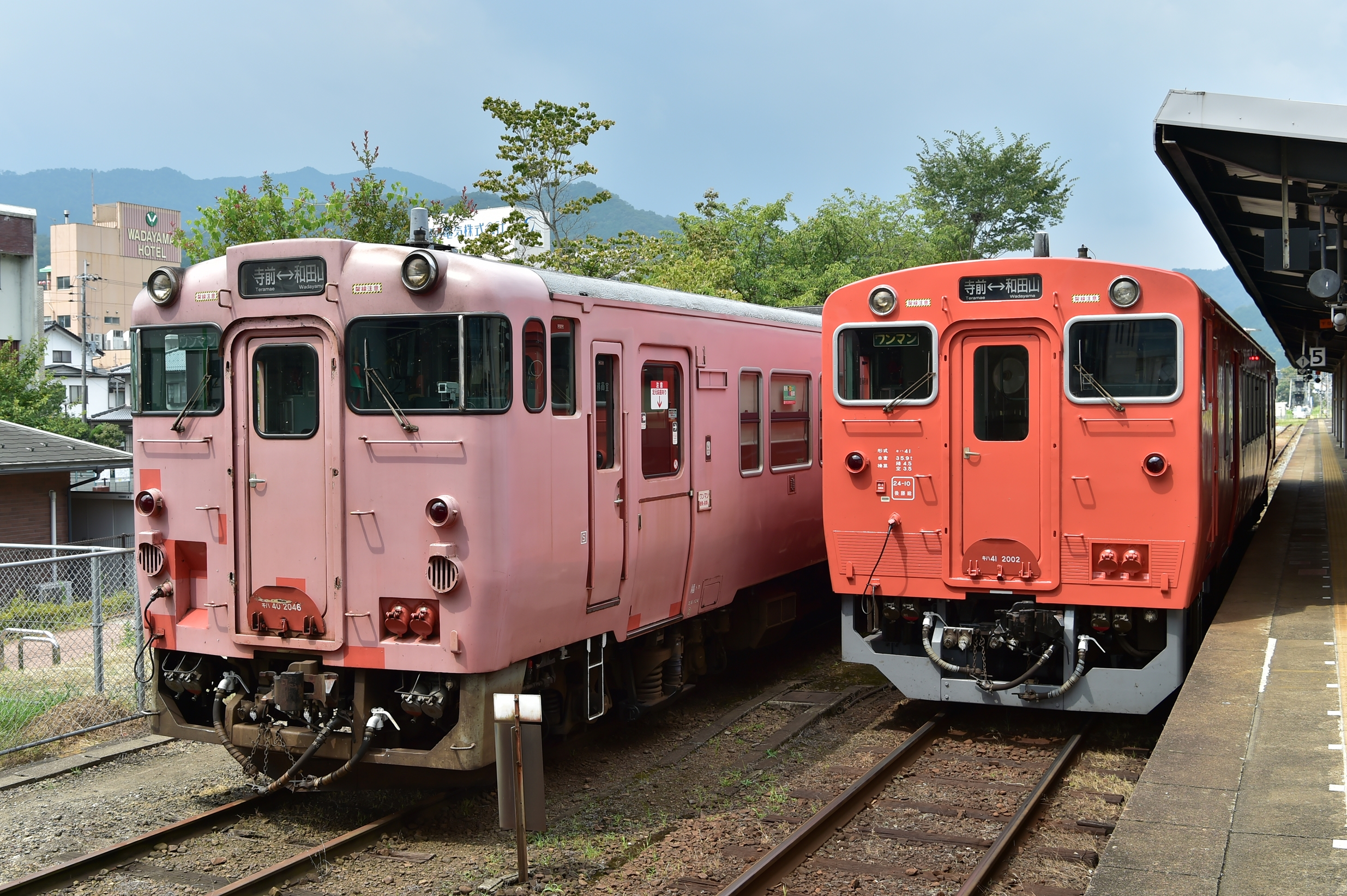 1和田山駅
