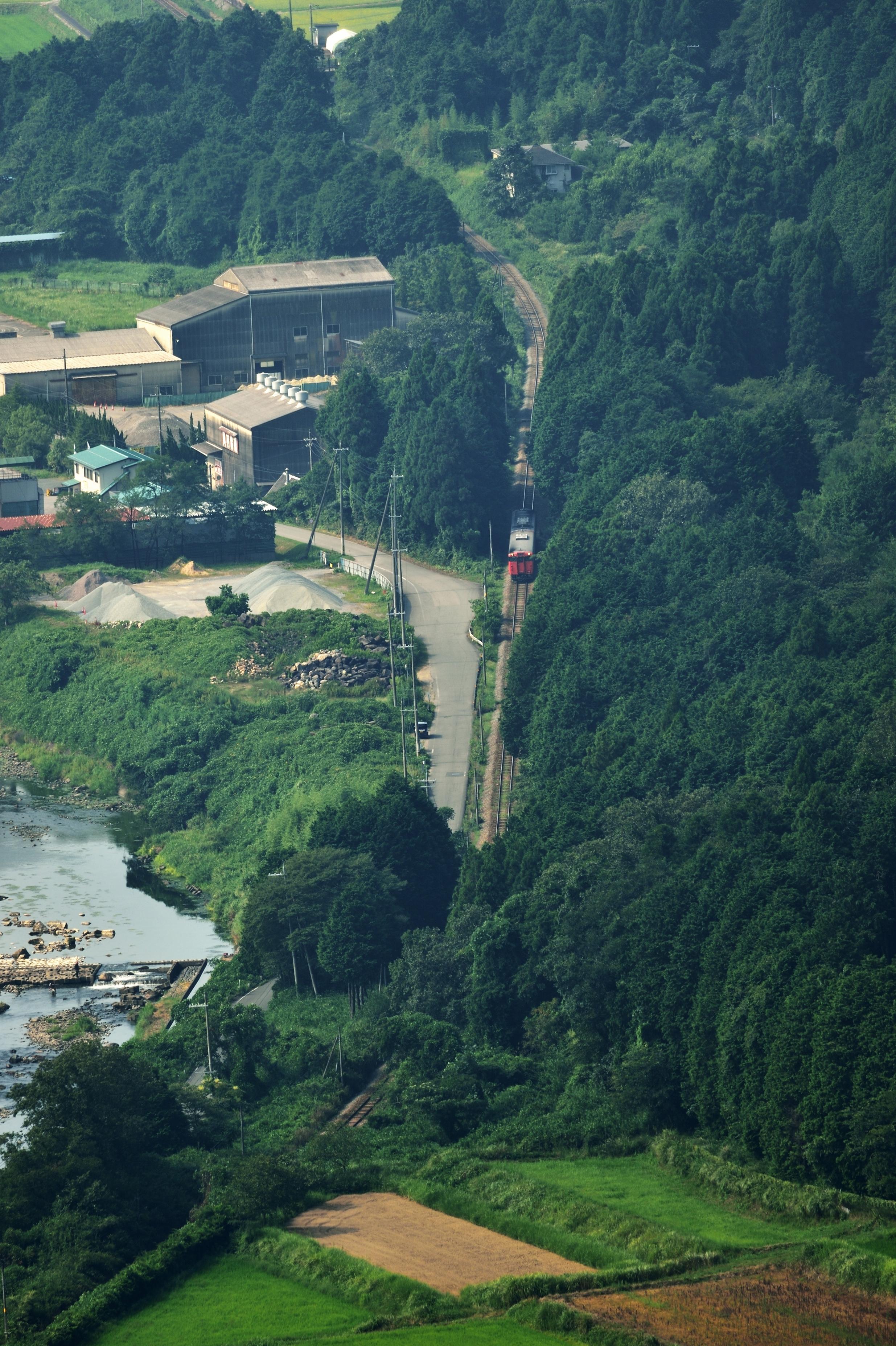 12竹田城跡俯瞰