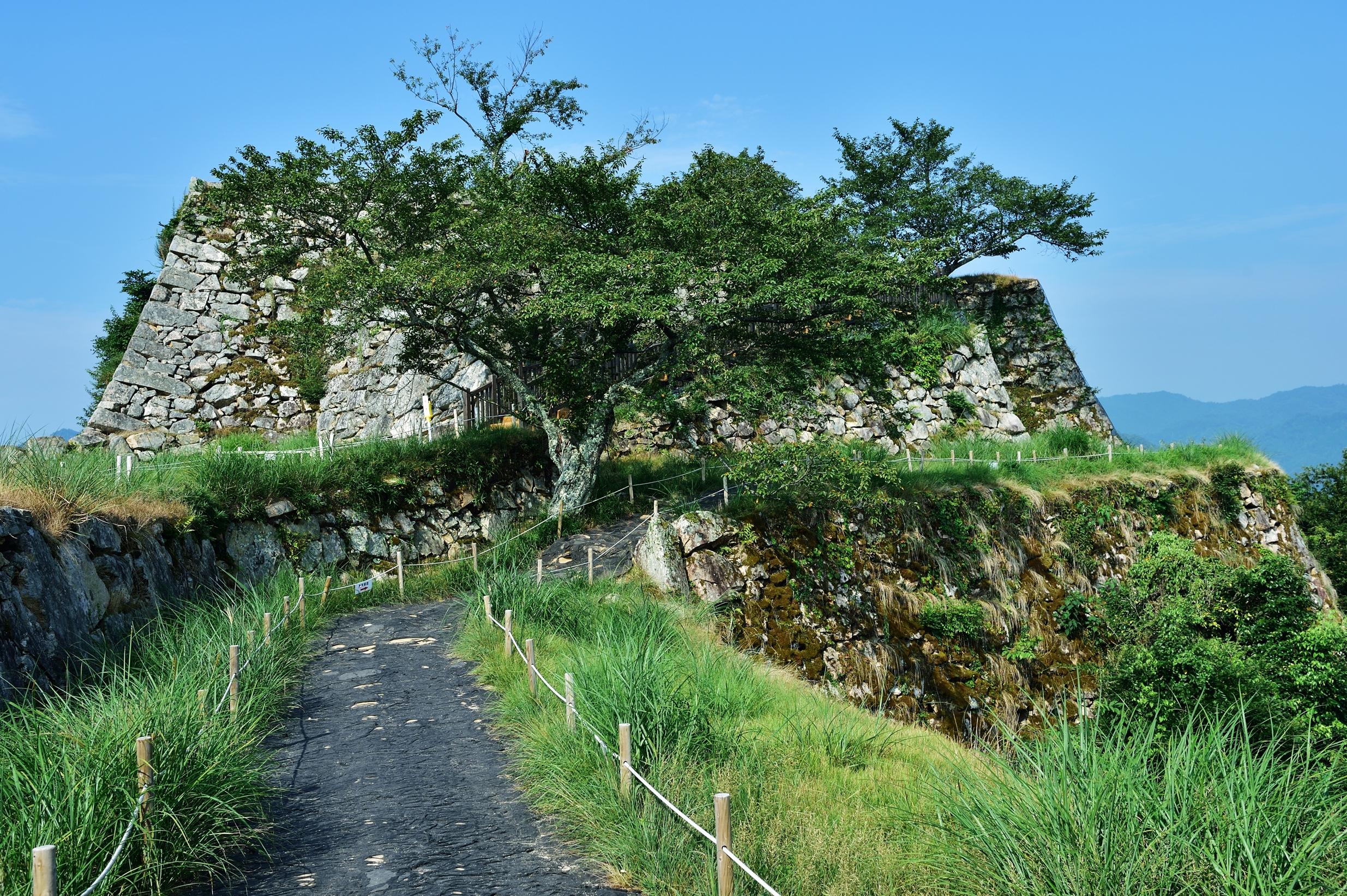 3竹田城跡