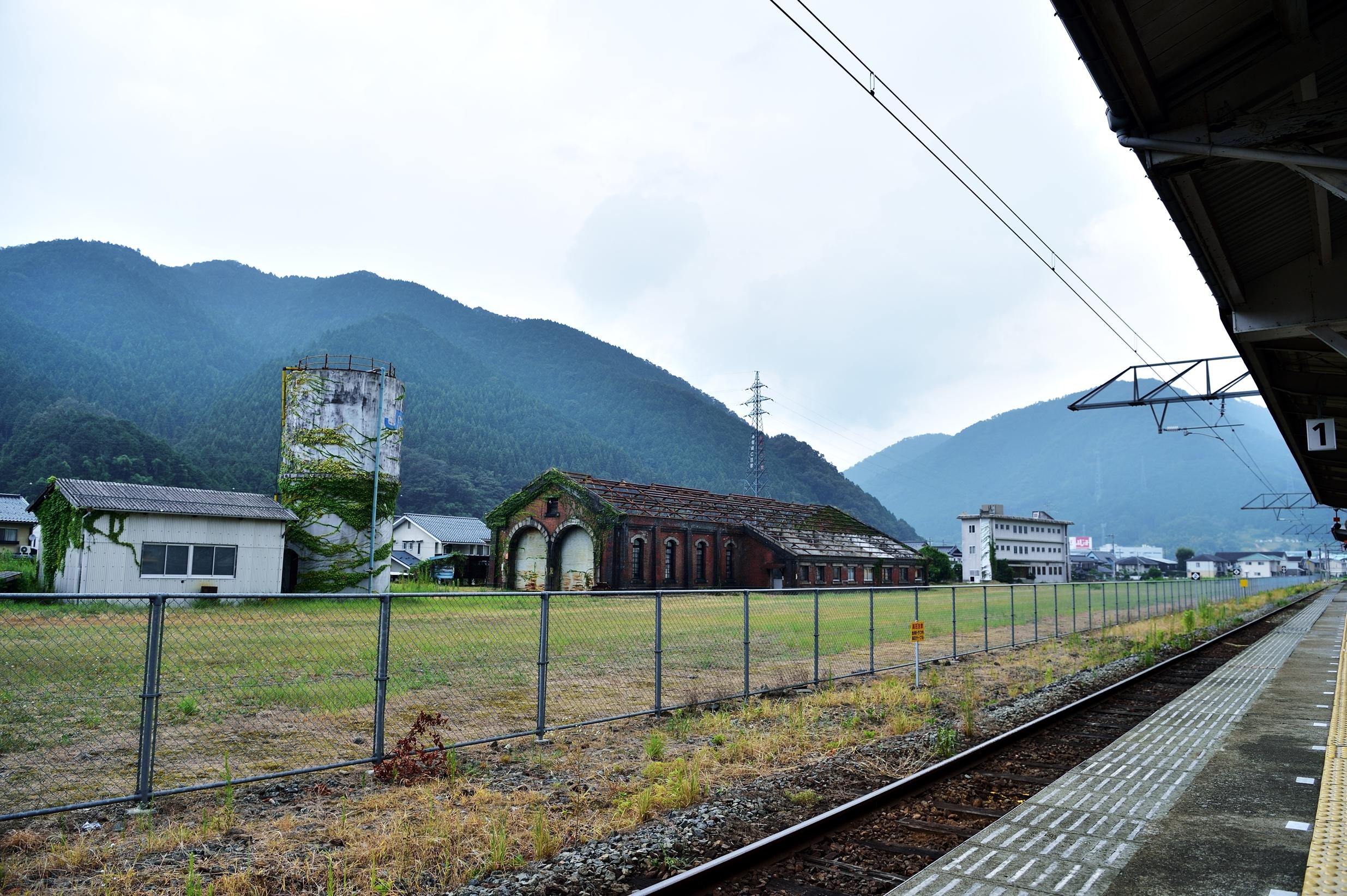 4和田山駅 機関庫