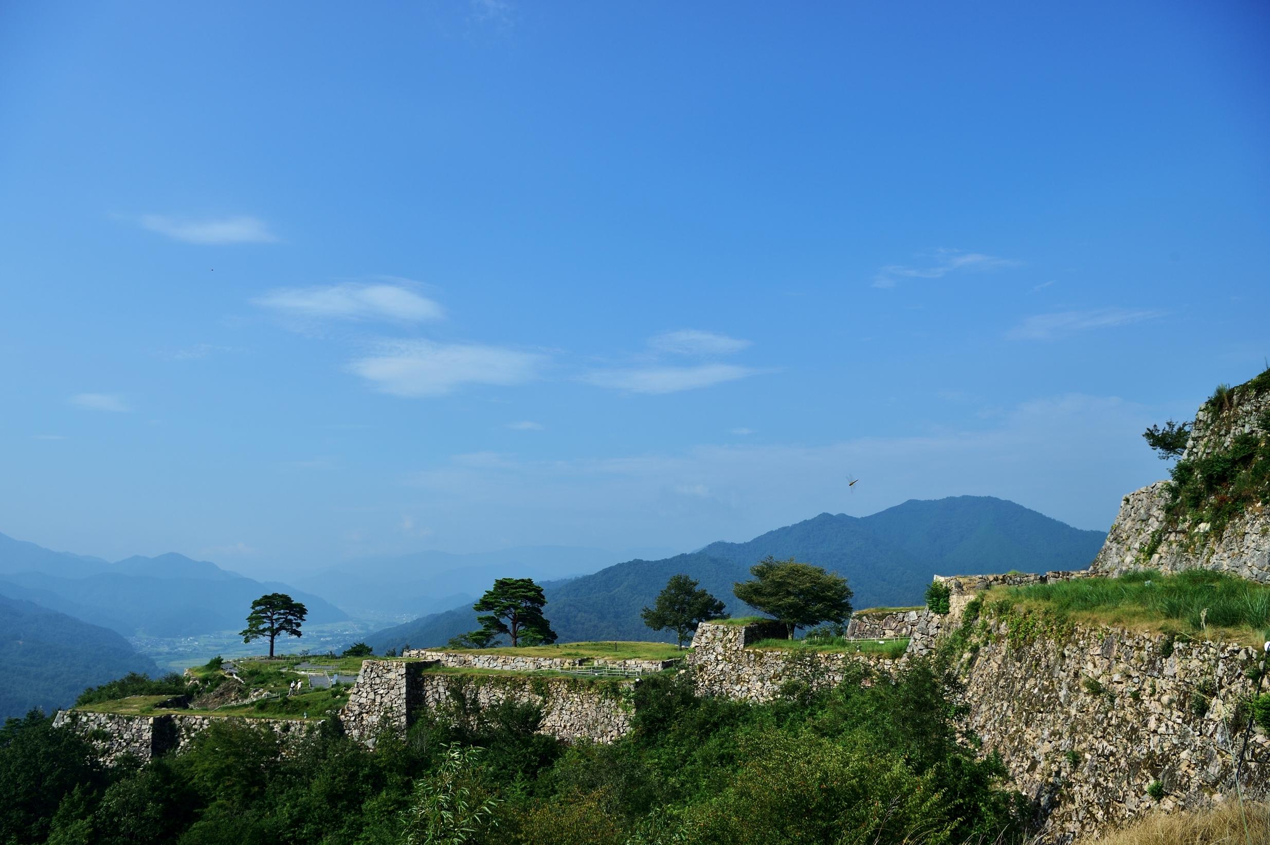4竹田城跡