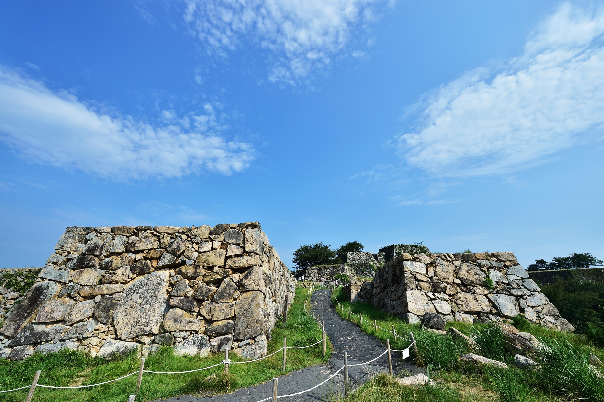 6竹田城跡