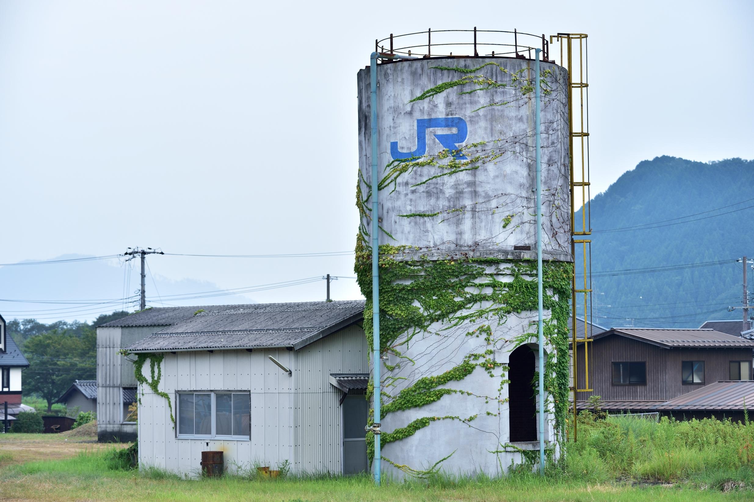 8和田山駅 給水塔