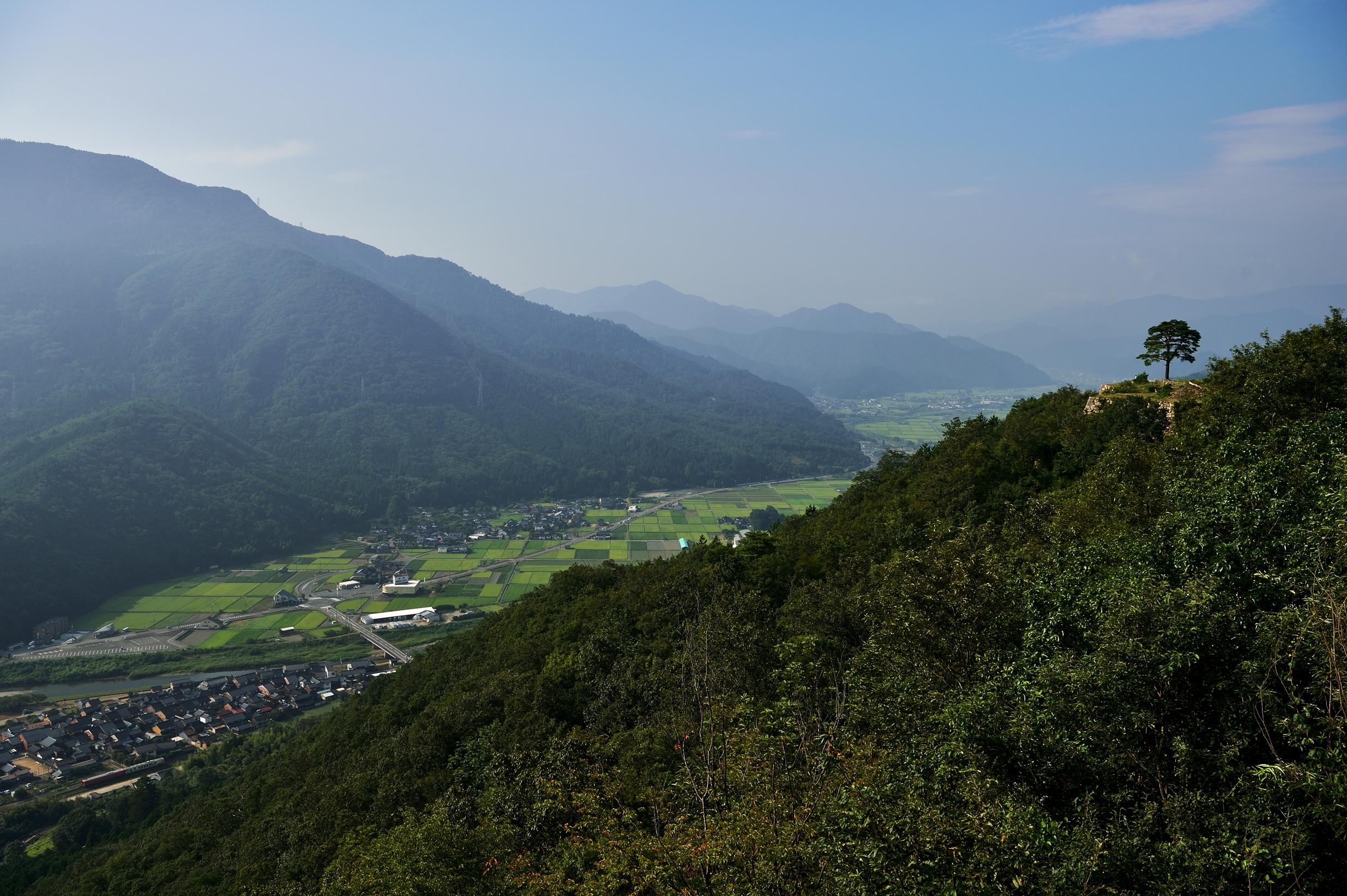 8竹田城跡俯瞰
