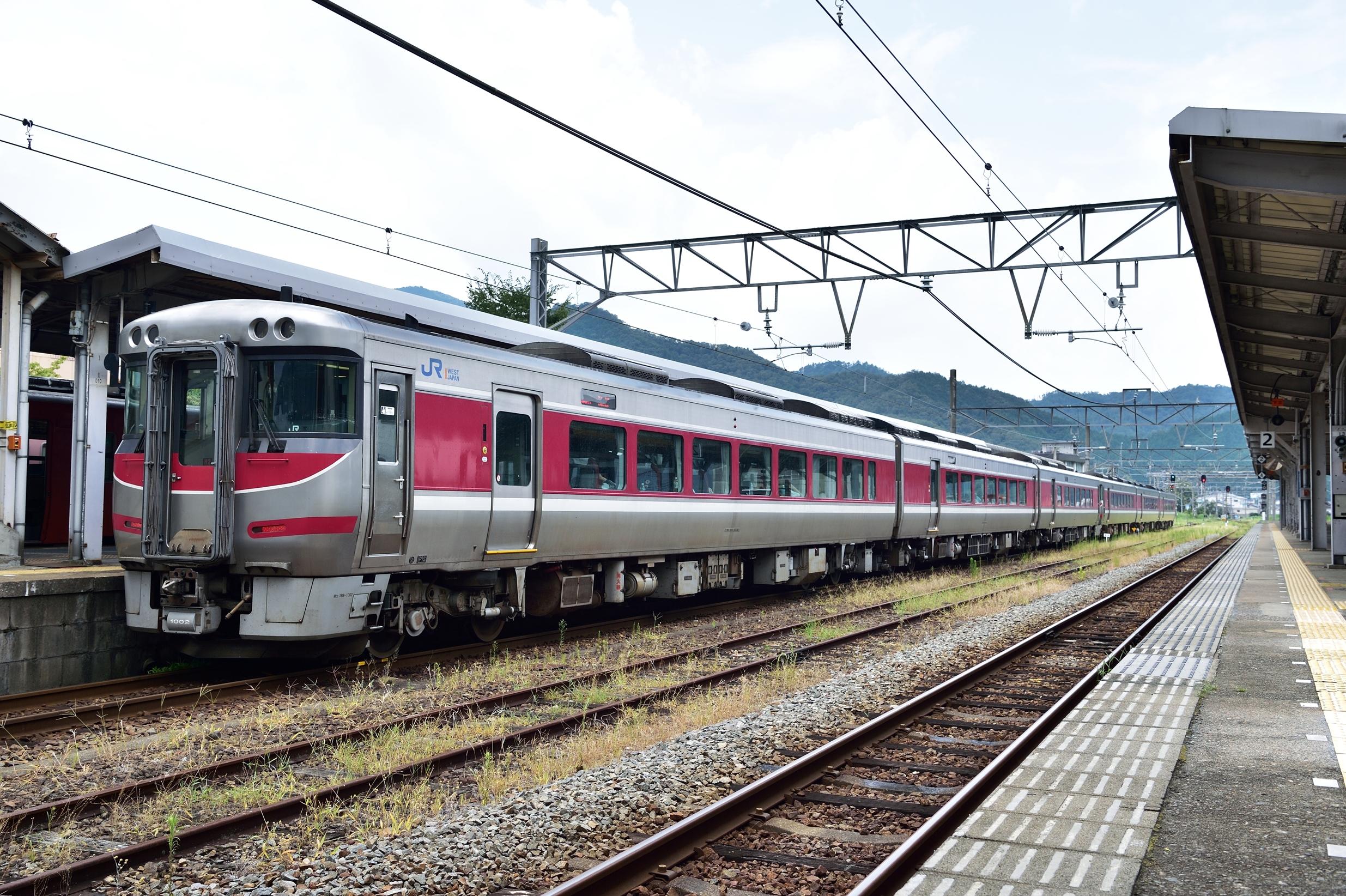 9和田山駅 189系