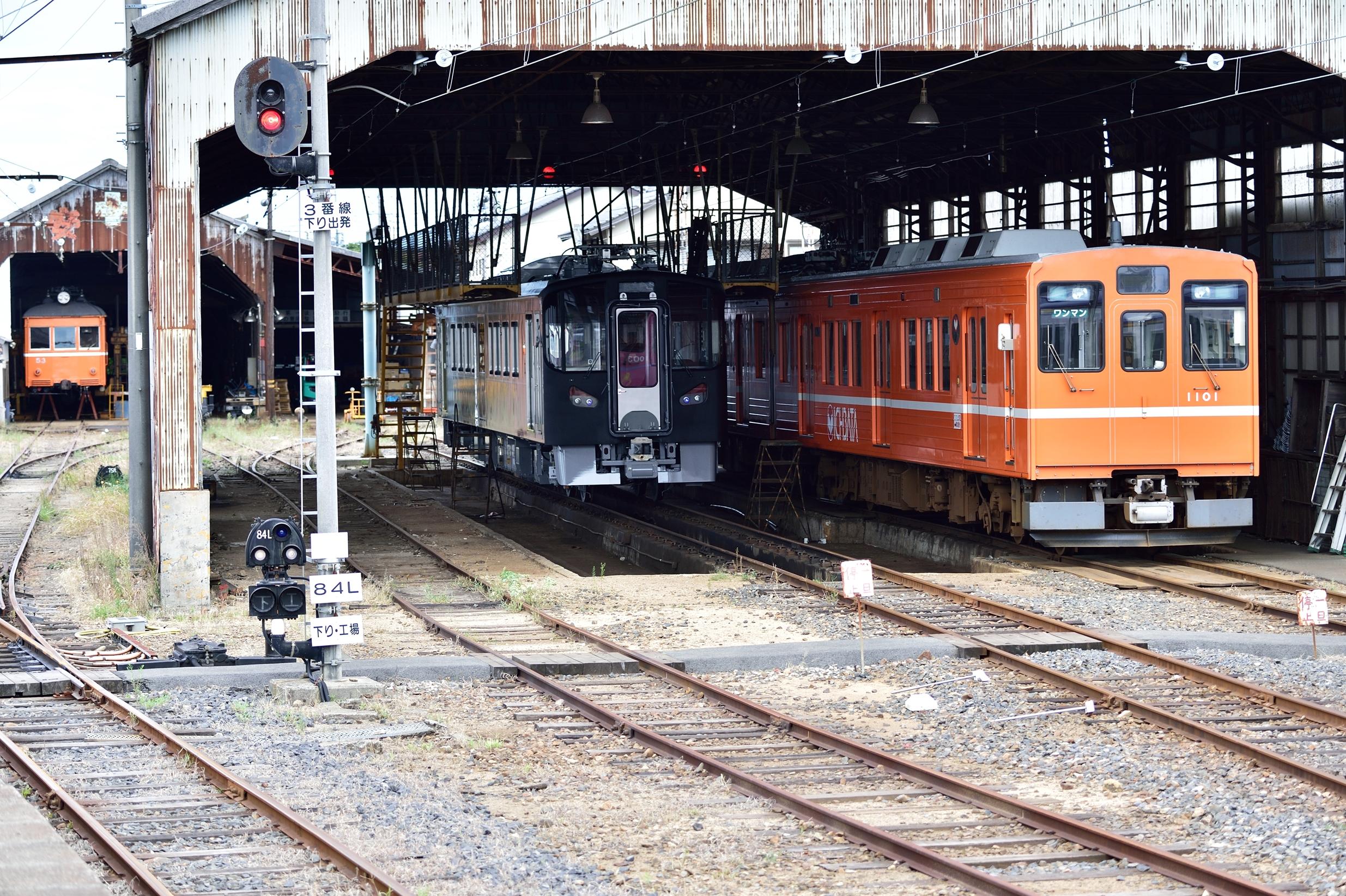 4雲州平田駅 7000系