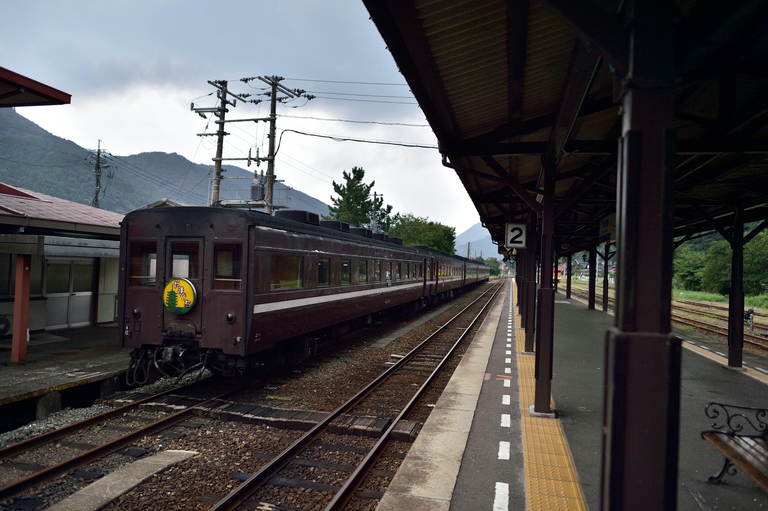 5 SLやまぐち号 津和野駅