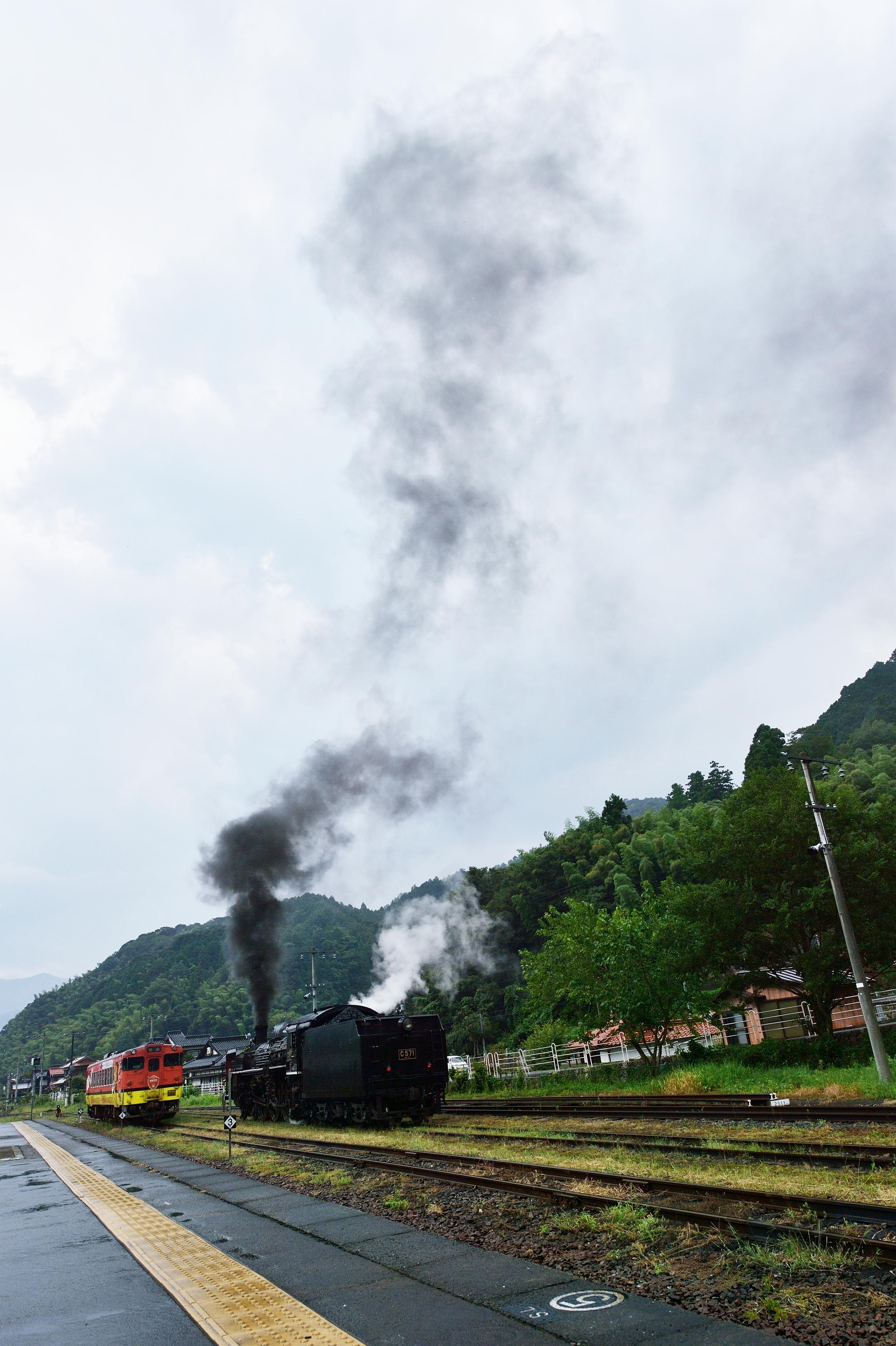 9 SLやまぐち号 津和野駅